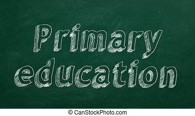 education, primaire