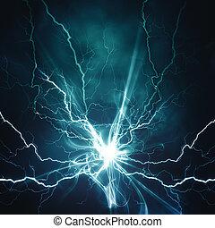 effet, arrière-plans, résumé, ton, techno, éclairage, conception, électrique