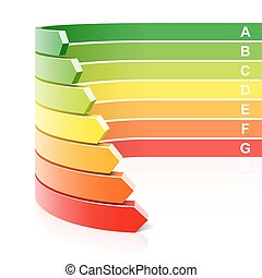 efficacité, concept, énergie