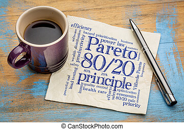eighty-twenty, principe, règle, pareto