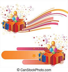 ele, vecteur, illustration-celebration