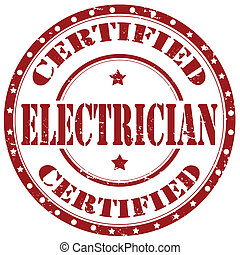 electrician-stamp