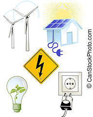 elektric, signe