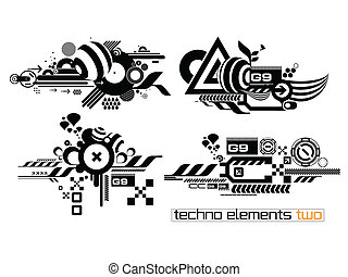 elemetnts, techno, ensemble, deux