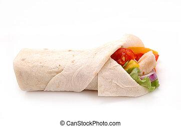 emballé, sandwich
