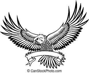 emblème, aigle