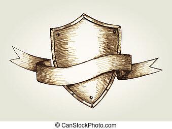 emblème, bouclier