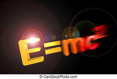 e=mc2, relativité, théorie