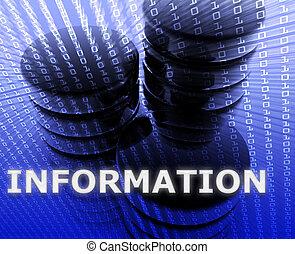 emmagasinage information, données