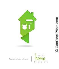 emmagasiner tableau, outils, logo