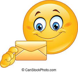 emoticon, enveloppe