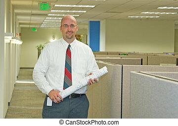 employé, bureau corporation