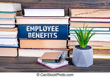 employé, concept, avantages