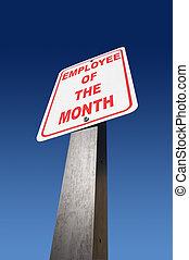 employé, mois