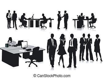 employés, bureau
