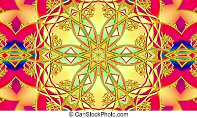 en mouvement, couleurs, divers, kaléidoscope