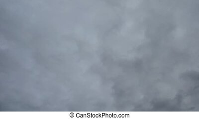 en mouvement, défaillance, nuages, temps