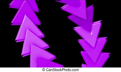 &, en mouvement, plastique, business, étalage, informatique, cartes, arrière-plan., flèche, triangle