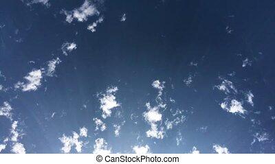 en mouvement, temps, nuages, défaillance