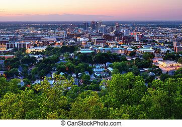 en ville, alabama, birmingham