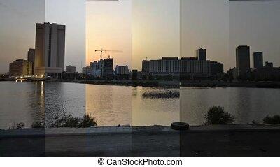 en ville, défaillance, jeddah, temps