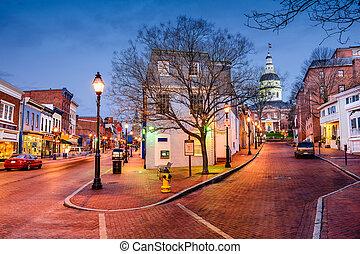 en ville, marlyand, annapolis