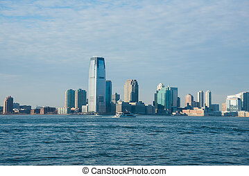 en ville, panorama, manhattan