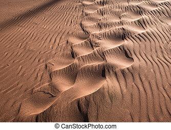 encombrements, dune sable