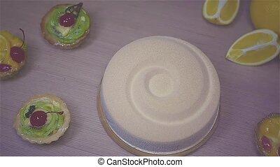 encore, savoureux, vie, gâteau