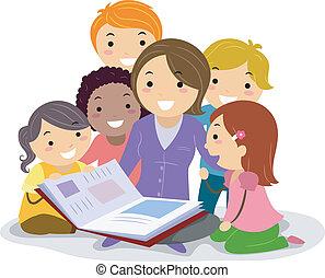 enfants livre contes