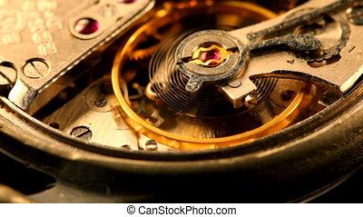 engrenage, horloge