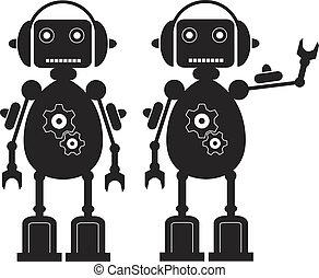 engrenages, robot