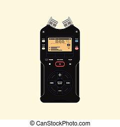 enregistreur, audio
