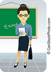 enseignement, prof