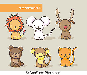 ensemble, animal