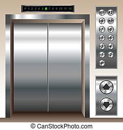 ensemble, ascenseur