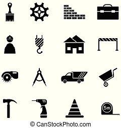 ensemble construction, icône