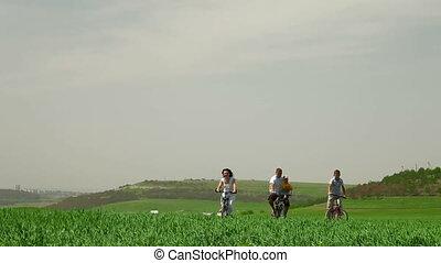 ensemble, cyclisme