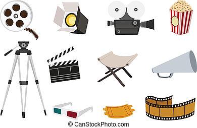 ensemble film, icône