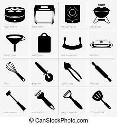 ensemble, kitchenware