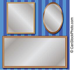 ensemble, miroirs