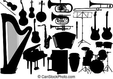ensemble, musique instrument