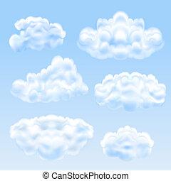 ensemble, nuages
