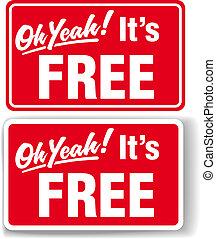 ensemble, oh, ouais, gratuite, signe, sien, magasin