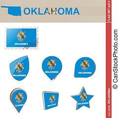 ensemble, oklahoma, ensemble, drapeau, #274