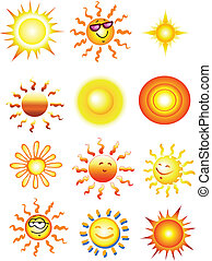 ensemble, soleil