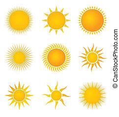 ensemble soleil, icônes