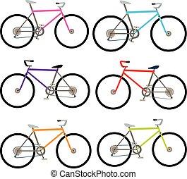ensemble, vélo