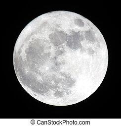 entiers, 19.03.11, ukraine, lune, moon., donetsk, phase, région