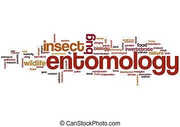 entomologie, mot, nuage